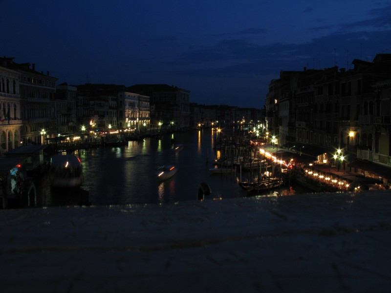 Picture from Rialto bridge in Venice